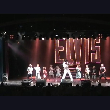 Dave Bushell As Elvis